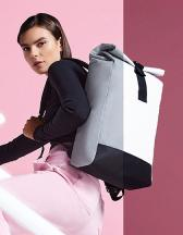Reflective Roll-Top Backpack