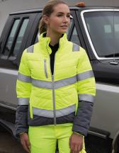 Women`s Soft Padded Safety Jacket