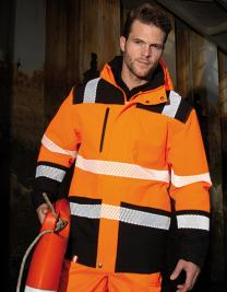 Printable Waterproof Softshell Safety Coat